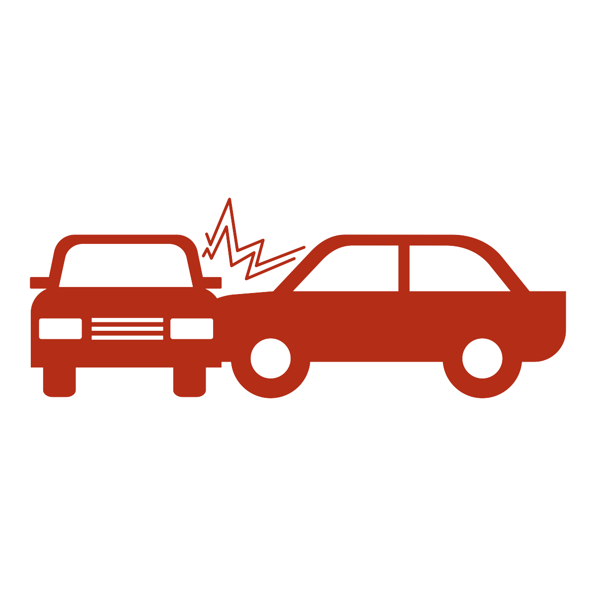 icon of two cars crashing into each other