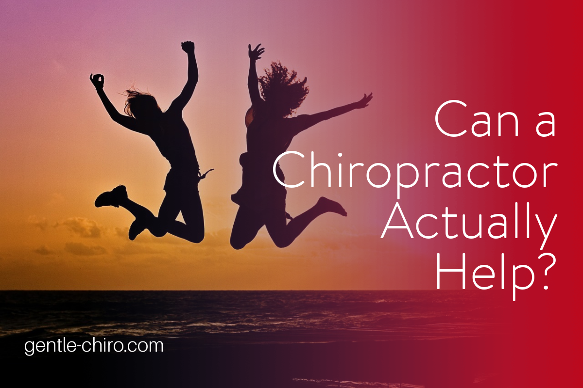 Can chiropractic actually help