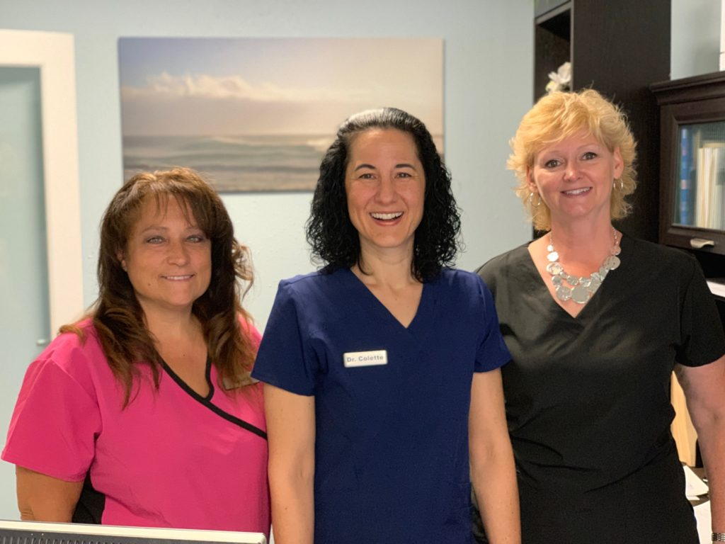 dr colette and staff