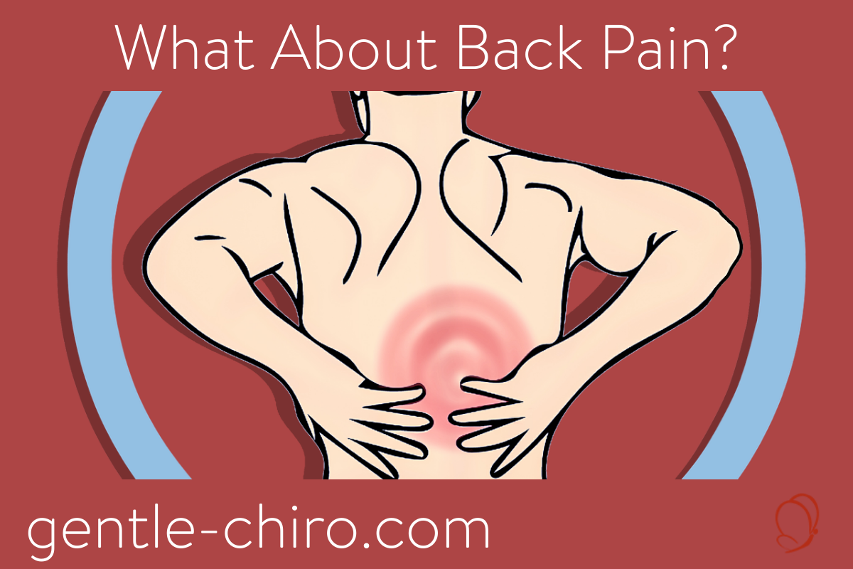 image of man holding his back in pain