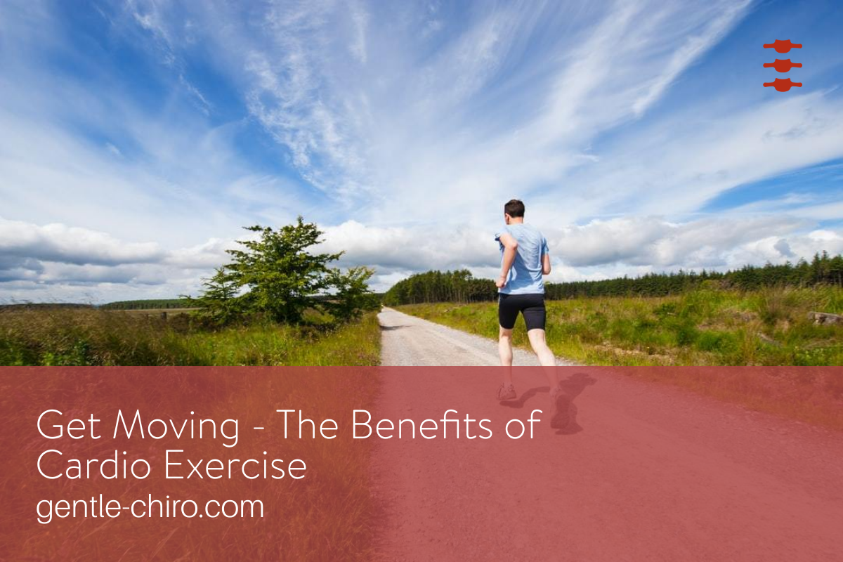 blog post image of man running down the road with beautiful sky